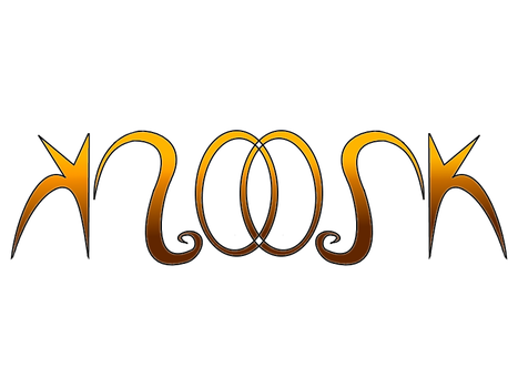 Moosk Ambigram by Vodos