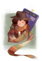 Fourth Doctor by kleineHerz