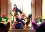 Commission: A Daring Proposal 2 by bakki