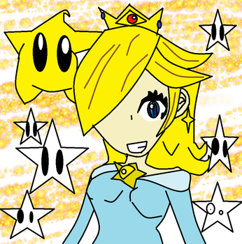 princess rosalina by fourswordslink
