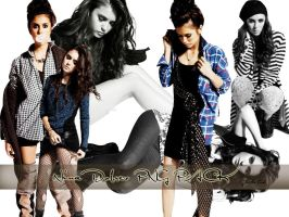 Nina Dobrev PNG PACK by LittleDiush