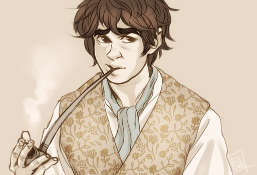 Bilbo by sharkieboo