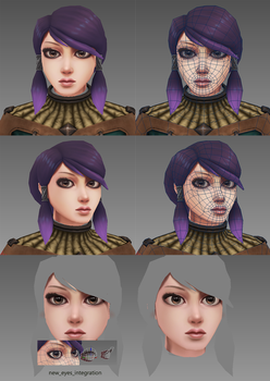 Eye texturing and integration test by Shaka-zl