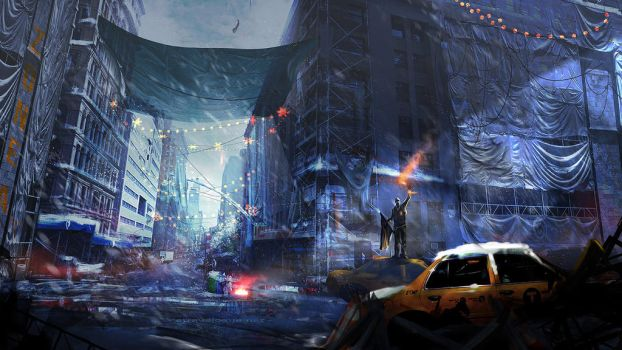 The Division Fan Art by faust8