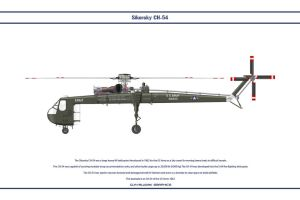 Sikorsky CH-54 USA 1 by WS-Clave