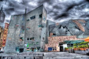 Federation Square HDR by daniellepowell82