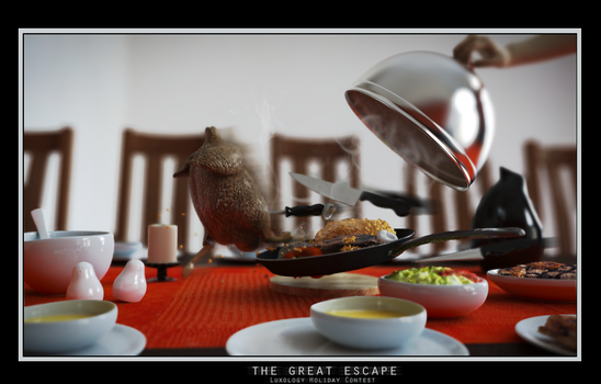 The Great Escape by ZeroPointPolygon