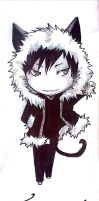 Izaya Kitty by MihaelLawliet