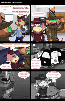 An Alien Caper 2: K-9 Division (Page 8) by Fishlover