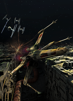 X-Wing by Aste17