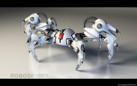 RoboSpider V2 Test2 by AnubisGraph