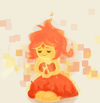 My Flaming Little Princess by monstermilk