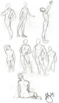 A Bunch of Nudes by Pebbles6
