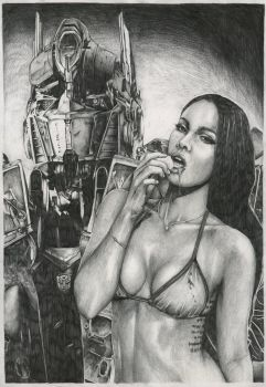 Megan Fox by moparmar