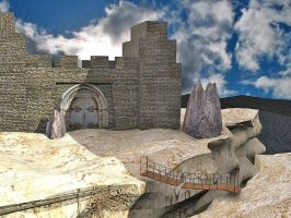 3d castle by darrelltate