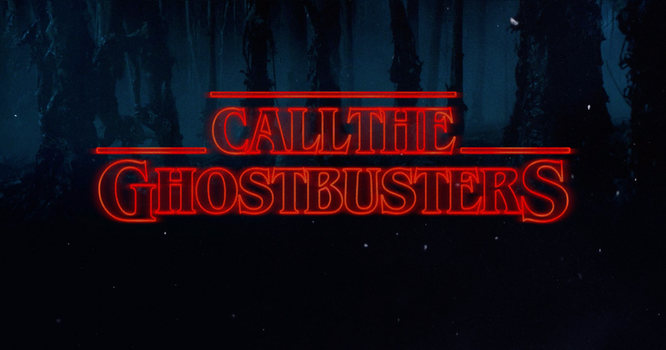 Call The Ghostbusters (Stranger Things) by PL125
