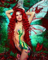 Bodypainted Fairy by Jassy2012