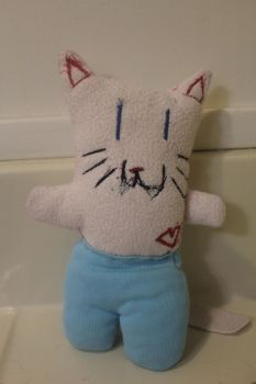 Sir kitty-for sale-CHARITY by Plushies-For-Sale