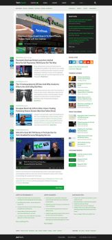 TechCrunch redesign by alesnesetril