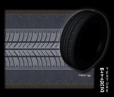 Tire texture -tiled by JayL-stock