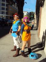 Crono and Lucca Cosplay by SoraSkater