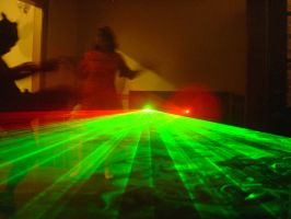 Freaking Lasers by prudentia