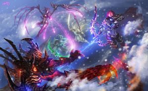 Heroes of the Storm by Athena-Erocith