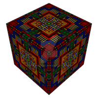 Four Powers in cube-form by Manroose