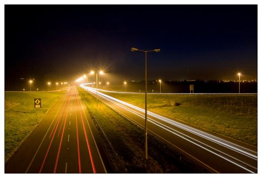 Night traffic by martinkaluza