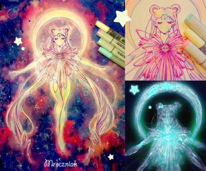 ~Sailor Moon spectacular transformation~ by MroczniaK