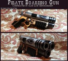 Confiscated Pirate Boarding Gun by CaelynTek