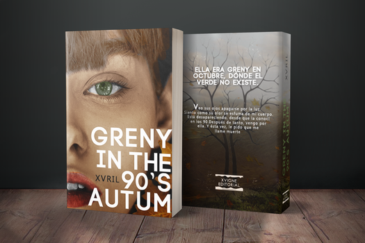 Greny Bookcover by xxvrilx