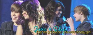 Justin and Selena Banner by italianaussiehottie