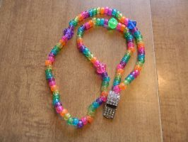 Sparkly Whistle Necklace by BlackVeilPride