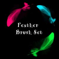 Feather Brush Set by eMelody