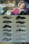 Porforever's Custom Brush Set 2 by Porforever