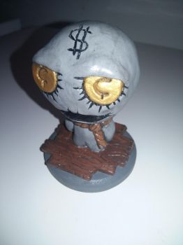 (The Binding of Isaac) Super Greed Sculpture by Skafandra206