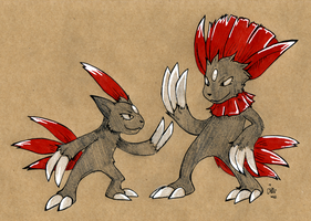 Craft Sneasel and Weavile