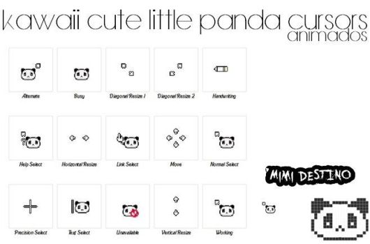 Freebies cute tiny cursor : Skintology deals