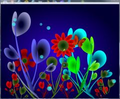 ambience screen saver by southernbellepsp