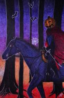 The Headless Horseman Halloween edition by Norafe