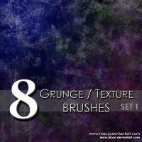 Grunge and Texture Brushes by AiSac