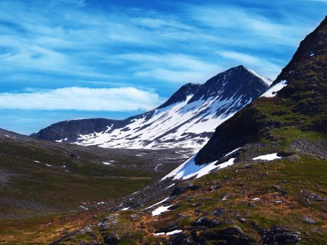 Norway 2015, a walk on the mountain side by TheodorAndersson