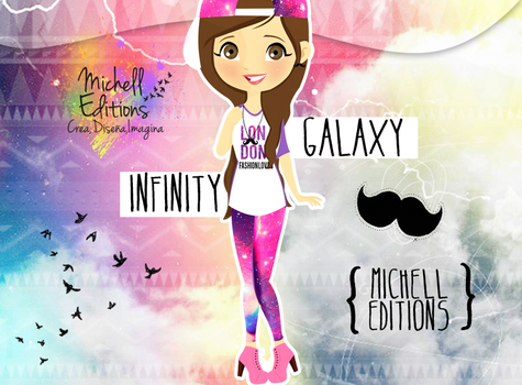 GalaxyInfinity MichellEditions by MichellEditions