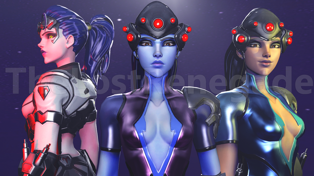 Widowmaker Past, Present, Future by TheLostRenegade