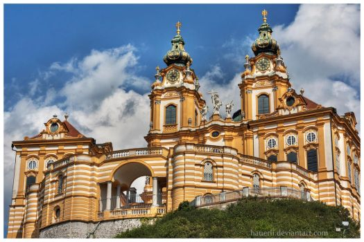 Abbey Melk - Austria by hauerli