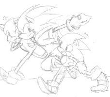 My Sonic Is Better Than Your Sonic by LarryKitty