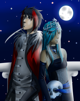 The King and Queen of the Underworld by Annadrujok