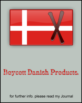 Boycott Danish Products. by opelman