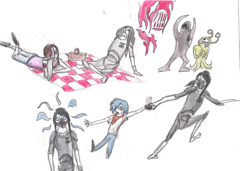 RP Sketches 1 by MotherOC---Eight